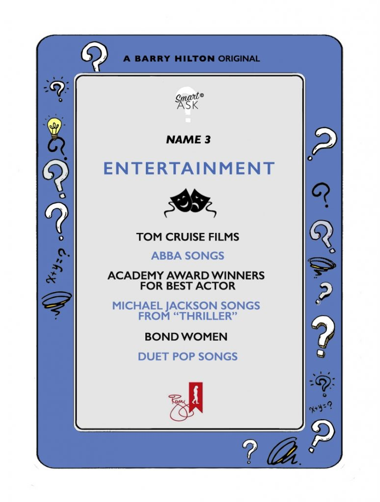 Smart Ask - Original - Card - Entertainment